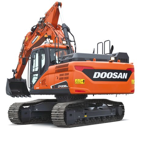 MNS DOOSAN DX 235 LC 5