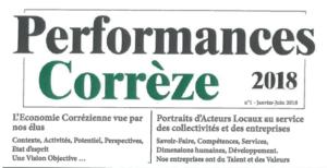 mns présent dans le journal performances corrèze 2018