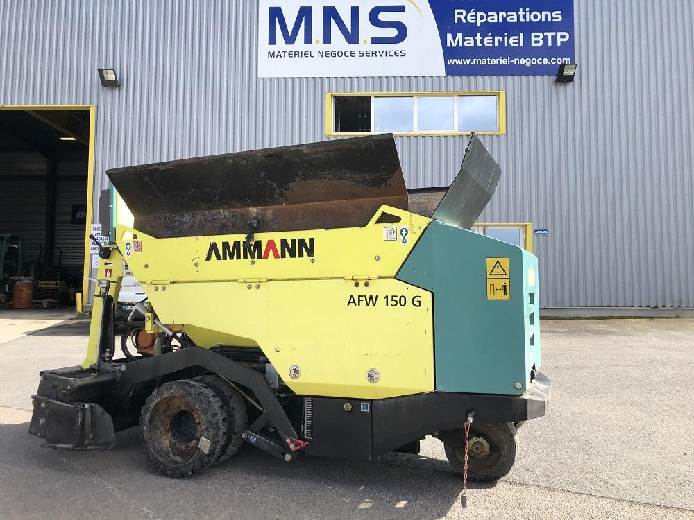 MNS mini finisseur AMMANN AFW 150